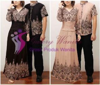 Foto Baju Batik Couple Untuk Pesta