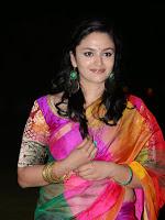 Malavika Nair in half saree at Yevade Subramanyam audio-cover-photo