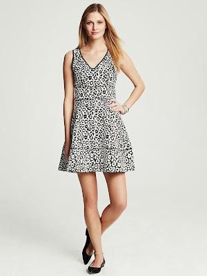 leopar desenli elbise, kısa elbise,