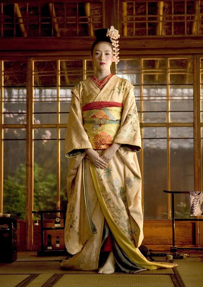 Sayuri kimono Memoirs of a Geisha