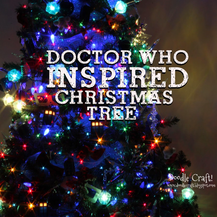 Doodlecraft: Doctor Who Inspired Christmas Tree!