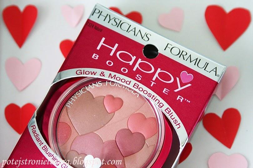 W Walentynkowym klimacie: serduszkowy róż Physicians Formula