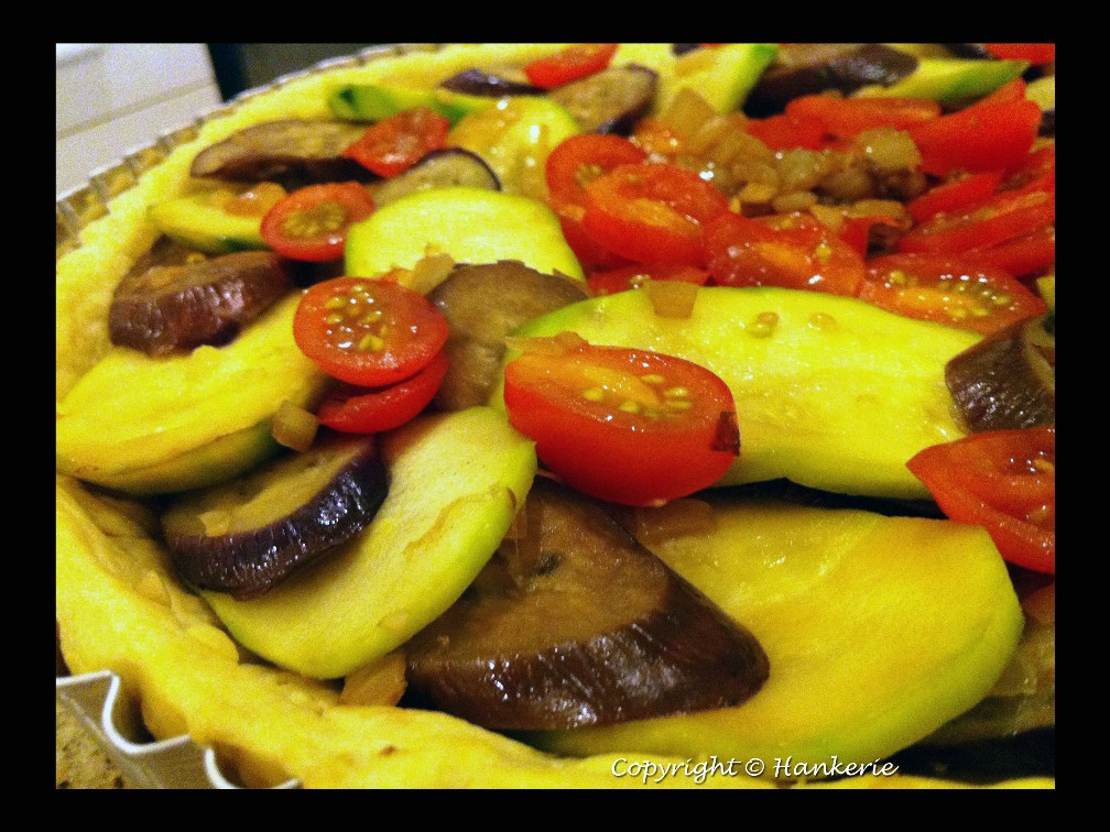 French Ratatouille Tart ~ Hankerie