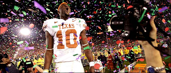 vince young rose bowl wallpaper