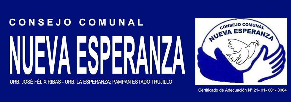 CONSEJO COMUNAL NUEVA ESPERANZA- VENEZUELA
