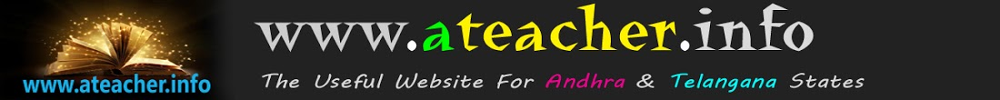 Website For Andhra Pradesh&Telanagana Teachers|AP,TS GOs, Orders for teachers-Ateacher.info