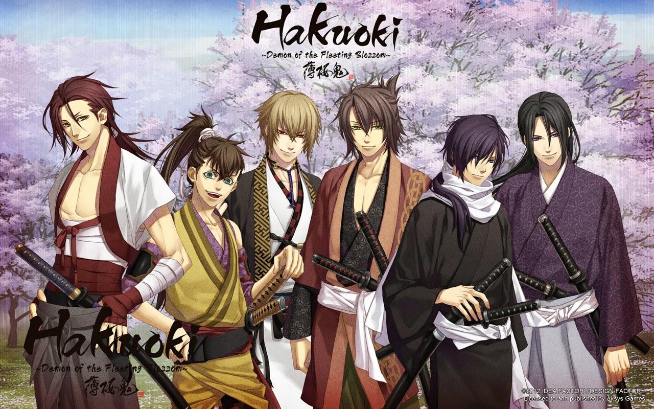 Wallpaper Hakuoki