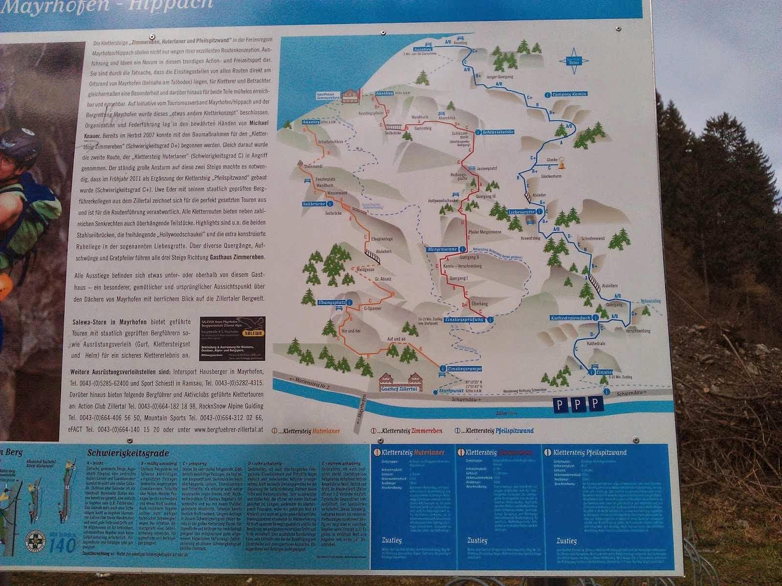 Klettersteig Mayrhofen : Pfeilspitzwand ks c d und huterlaner alpine abenteuer