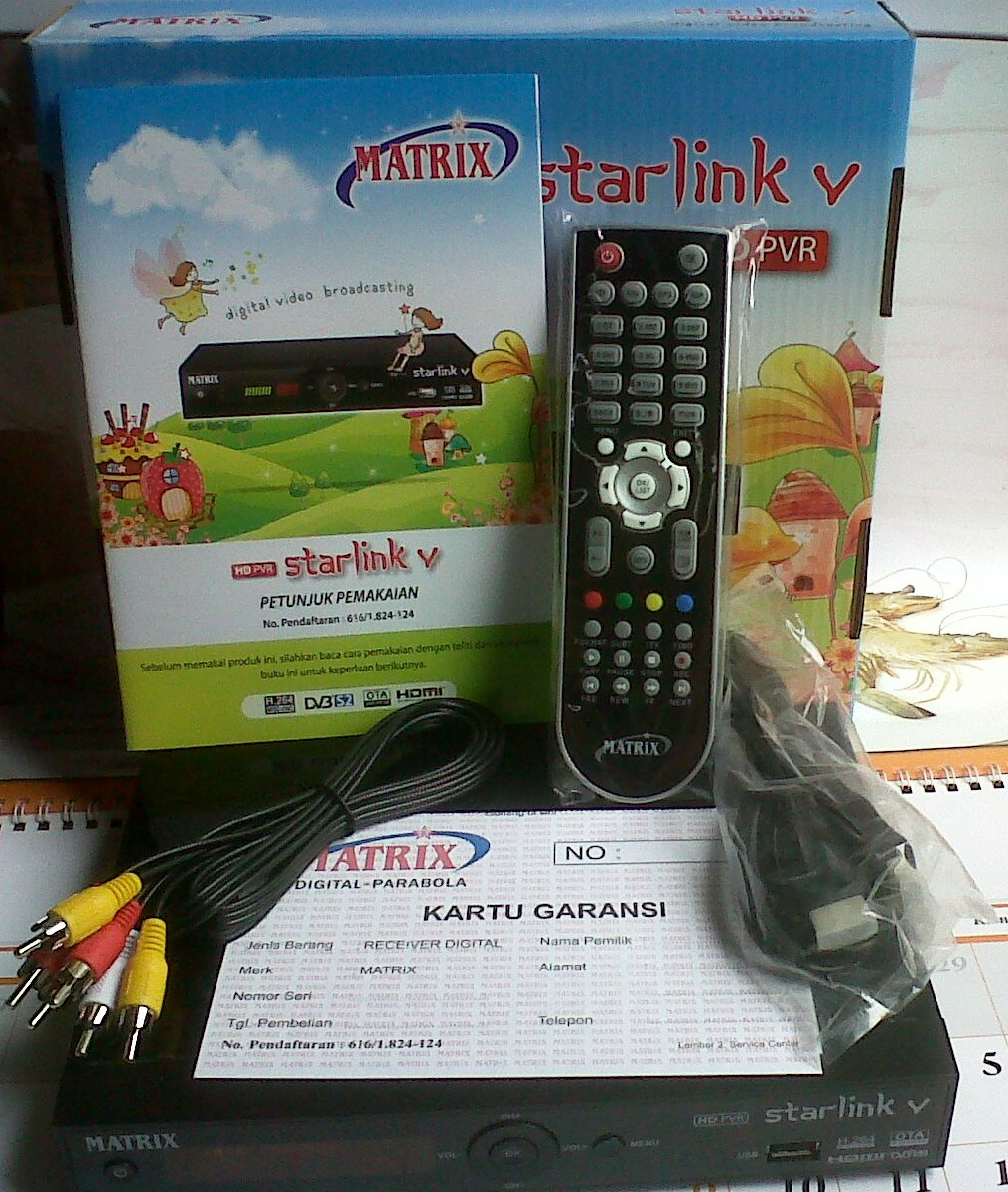 MATRIX STARLINK V HD PVR BISS KEY