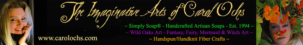 Carol Ochs Arts: Simply Soap, Wild Oaks Art, & Fiber Crafts!