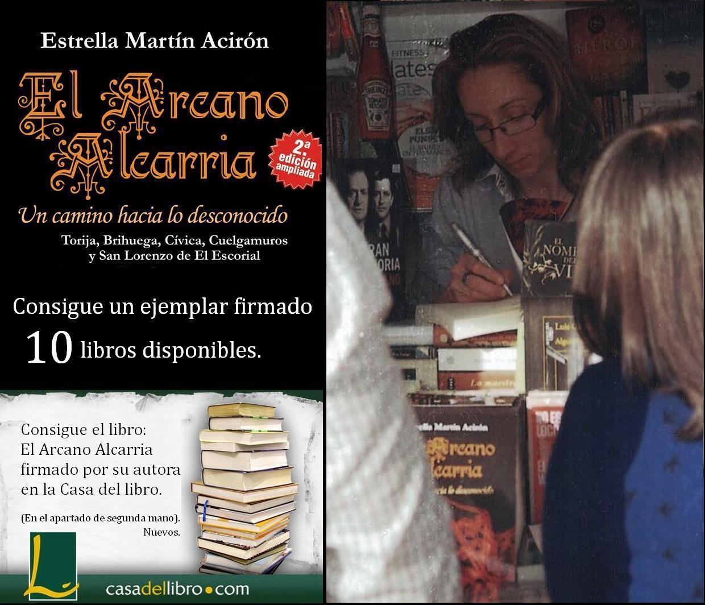 Libros firmados por la autora