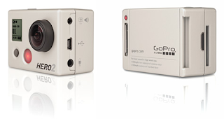 GoPro HD 2 Back and Front
