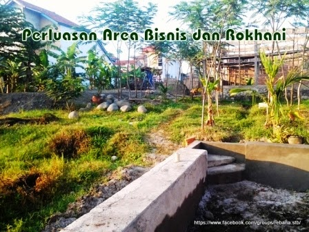 Pembangunan mushalla dan bengkel bubut
