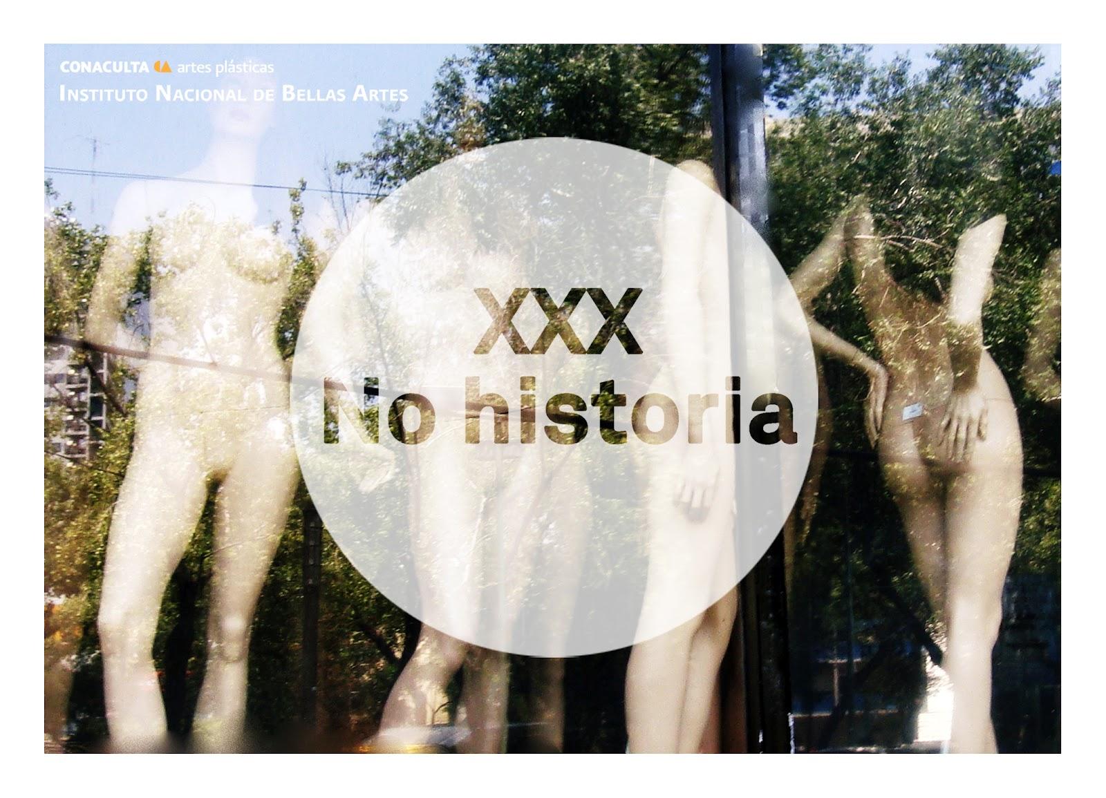 CLAUDIA CABRERA: Arte acción/ escena: XXX No historia