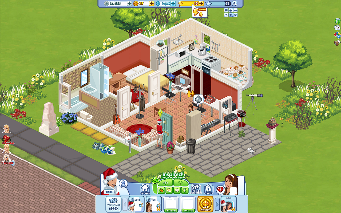 Played: The Sims Social (Facebook) | Init_Games