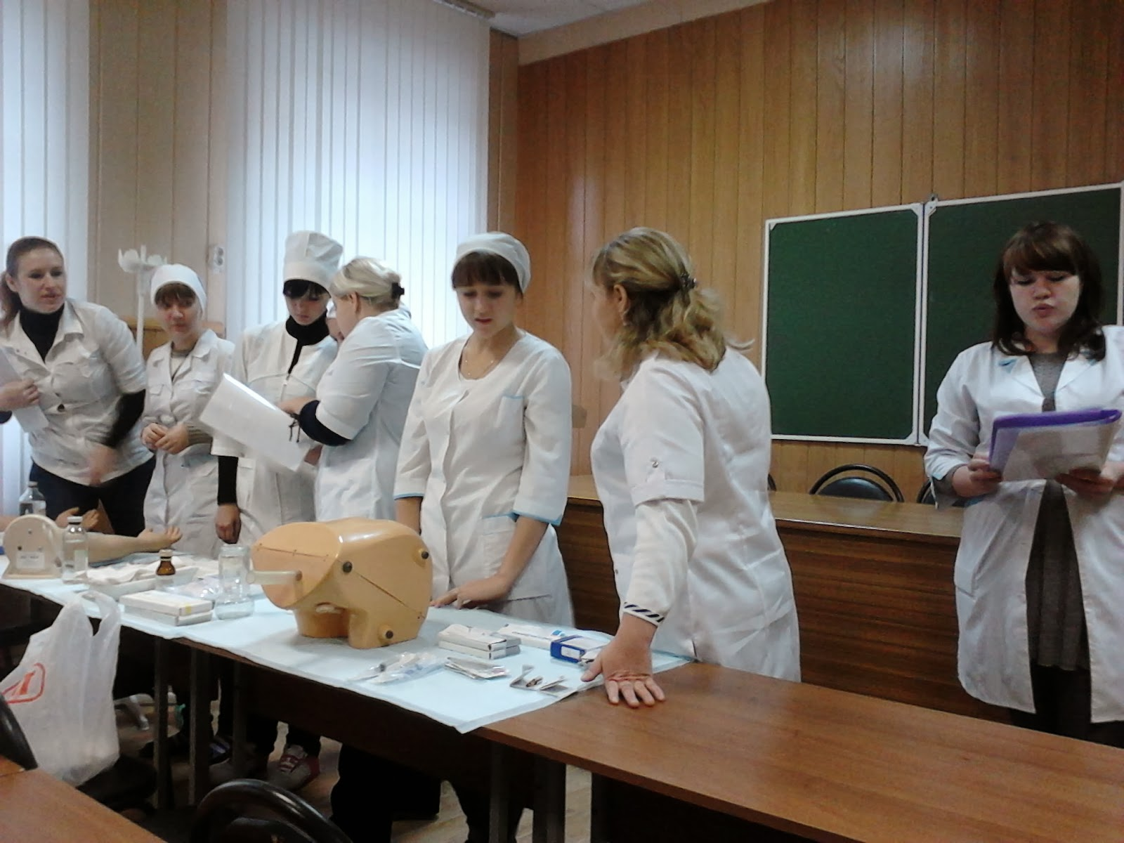 работа процедурной медсестры на повышение квалификации каком
