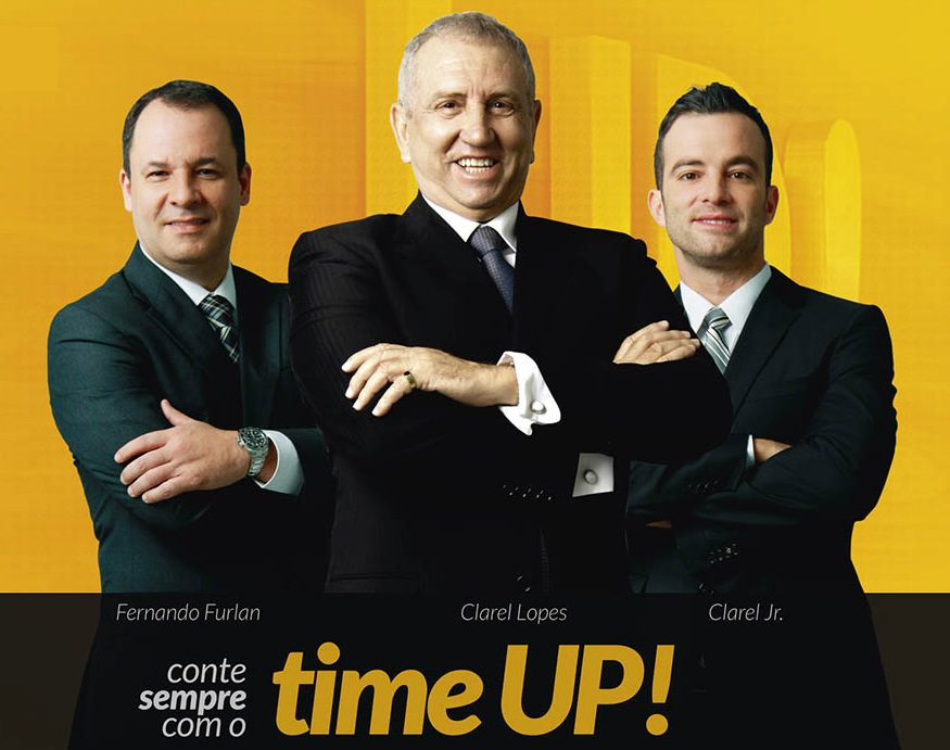 time up essência no Brasil