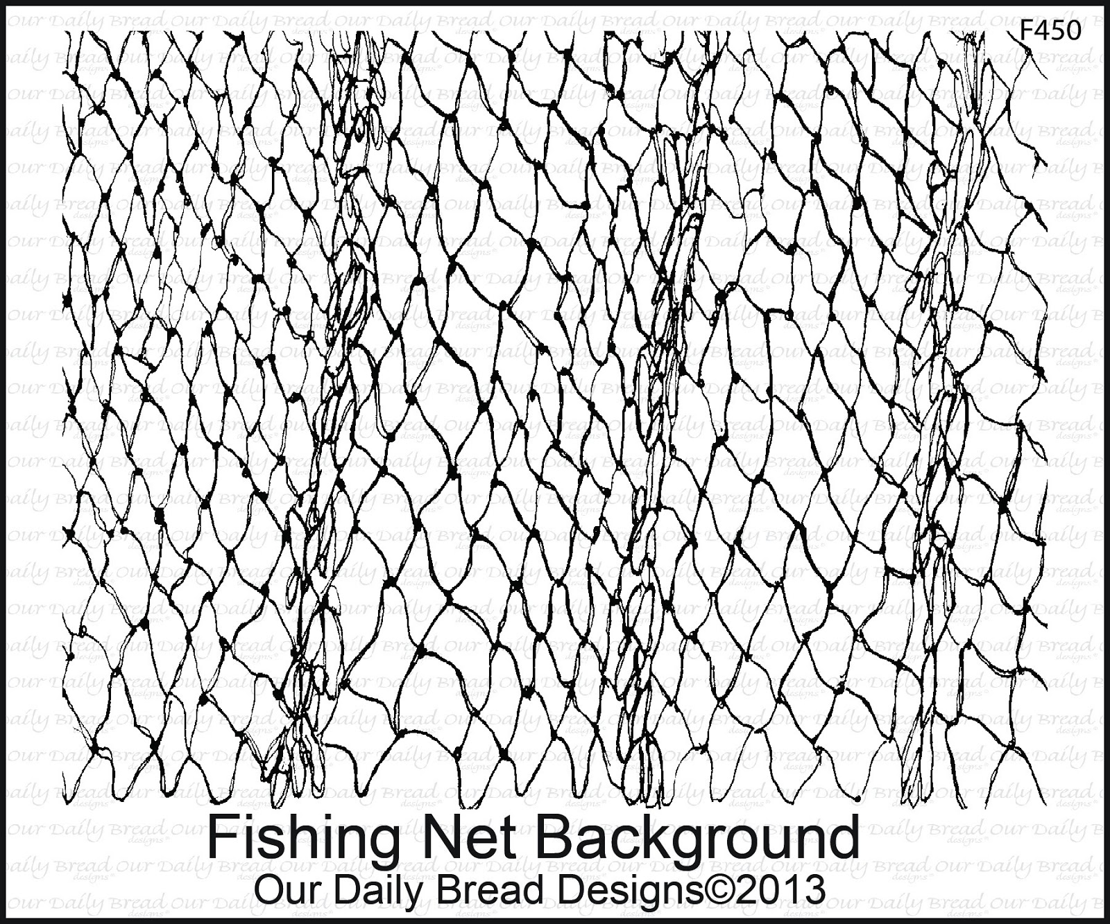 Fishing net coloring pages