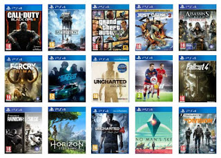 Games for Sony PlayStation 4