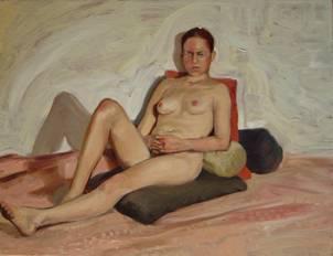 El artista defeño Daniel Lezama presentará desnudos al óleo en Cuernavaca; estará hasta noviembre