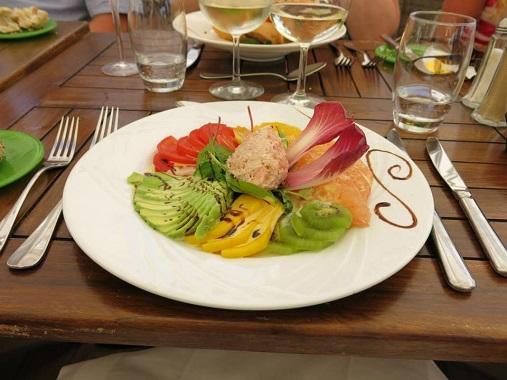Salade Caraibe, Vegaluna, Cannes