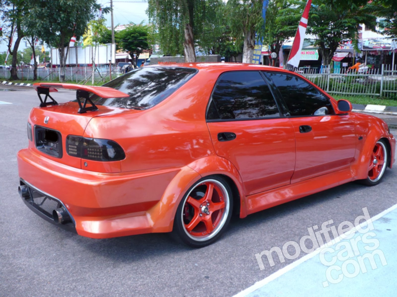 Honda Civic Genio Modifikasi Super Sport Tabloid Ototrend