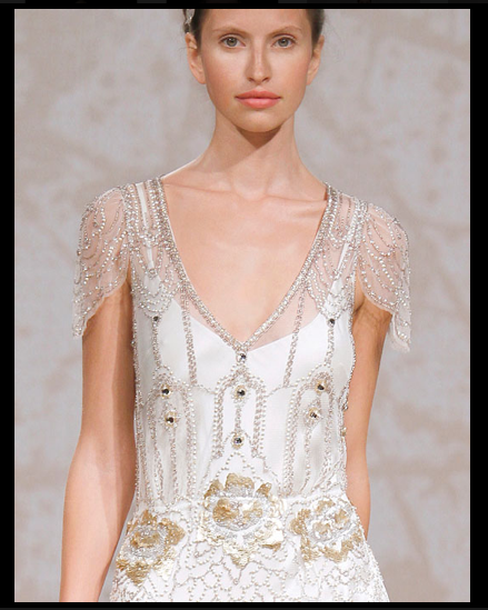 The Wandering Bride: FLAPPER WEDDING DRESS