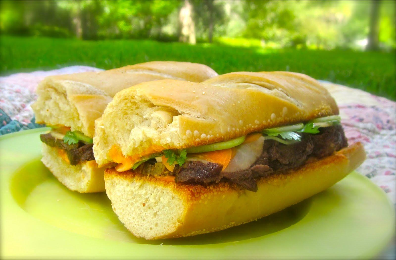 Haute + Heirloom: Caramel Pork Belly Banh Mi Sandwiches
