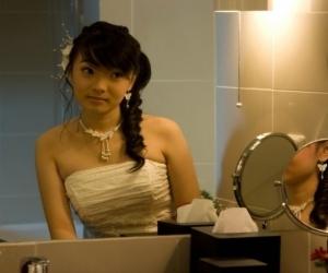 Margareth Angelina (Angel Chibi) Cantik dengan Gaun