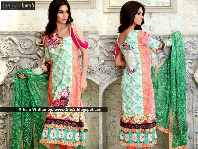 Zahra Ahmad Spring Summer Collection