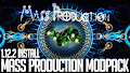 HOW TO INSTALL<br>Mass Production Modpack [<b>1.12.2</b>]<br>▽