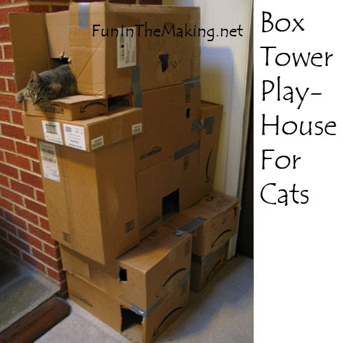 Love is an animal the best holiday gift for your cat for How to make a cat tower