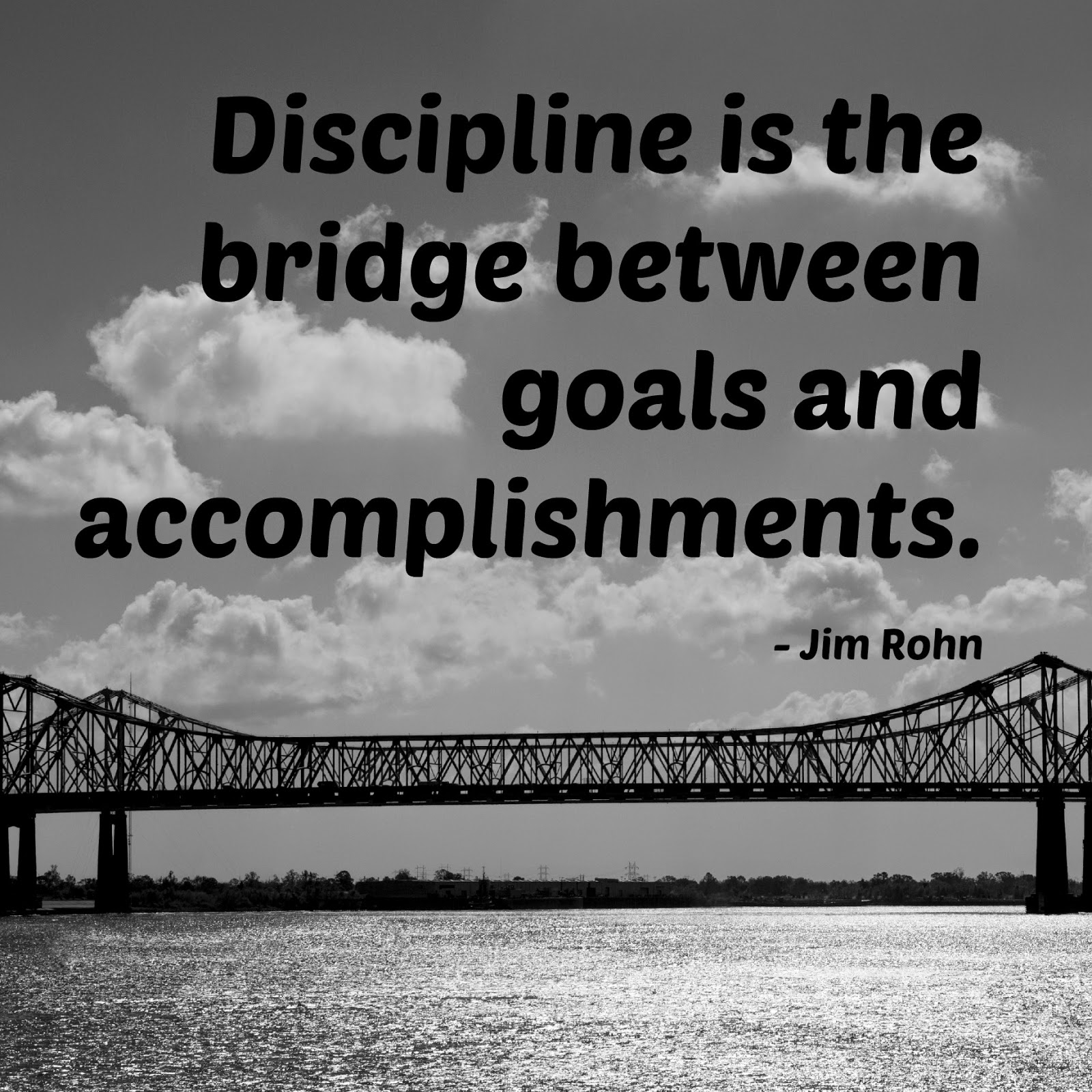 blue dog marketing discipline is the bridge between goals and discipline is the bridge between goals and accomplishments jim rohn