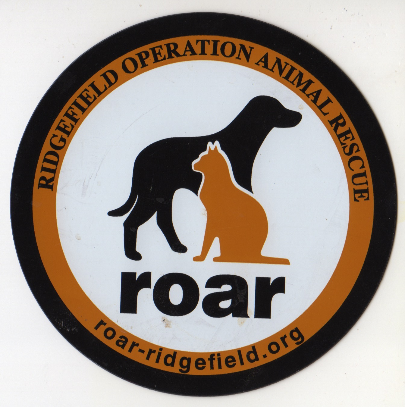 A new volunteer for Ridgefield Operation for Animal Rescue (ROAR)