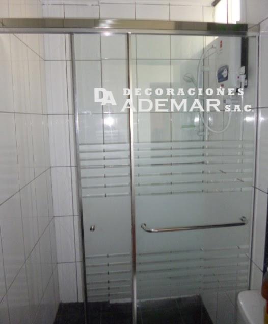 Cortina De Baño O Mampara: de duchas, pisos laminados,cortinas roller: Puertas para Duchas