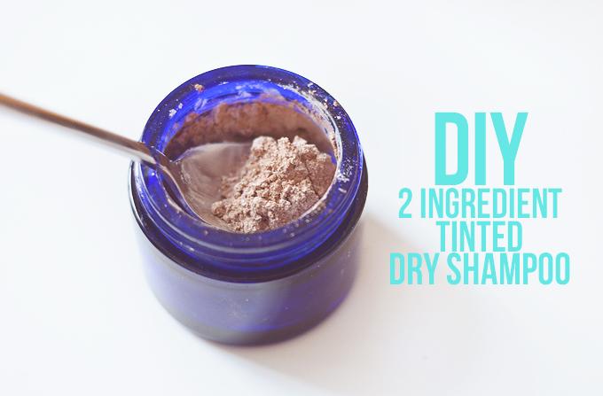 DIY Tinted Dry Shampoo
