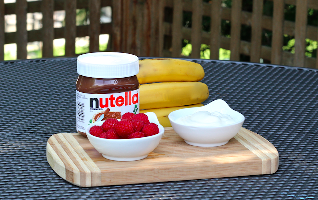 Nutella Summer Truck Tour and a Breakfast Banana Split Recipe #AddaLittleJoy
