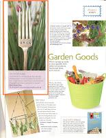 Featured in Flea Market Gardens Premiere Issue