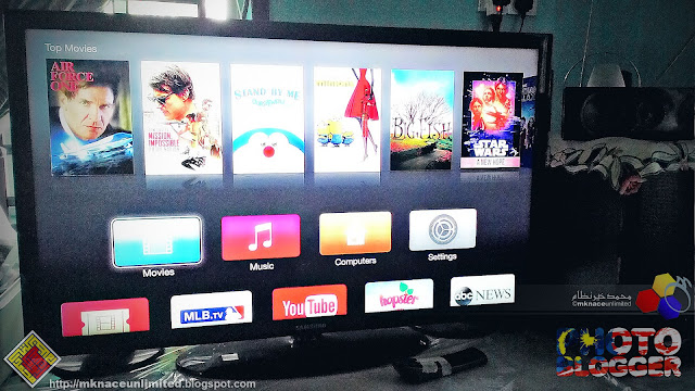 Permanent Place For Apple TV