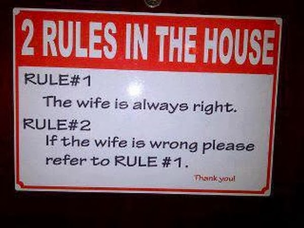husband wife married couple funny joke sms text message