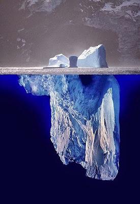 experiências divertidas - como criar um iceberg