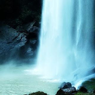 Poço da Cascata Salto Ventoso, em Farroupilha.