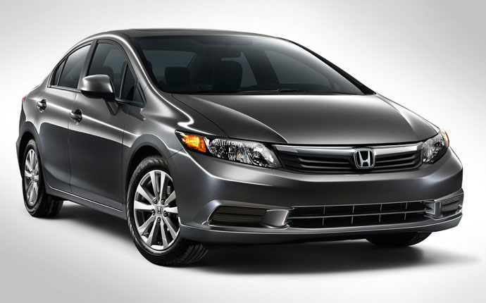 The Best Of Automotive  2012 Honda Civic Sedan Weight Saving