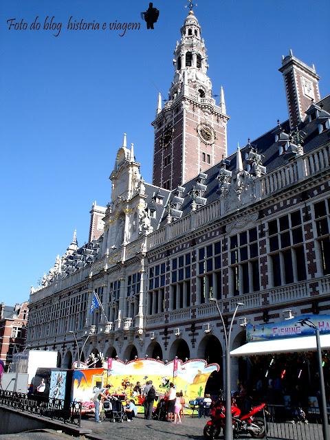 library of Leuven - Belgium