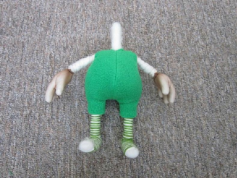 Игрушка-гномик своими руками
