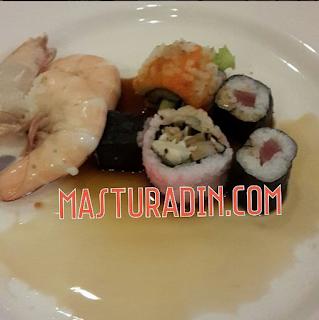 sushi, pengalaman, corus hotel, jamuan hari raya
