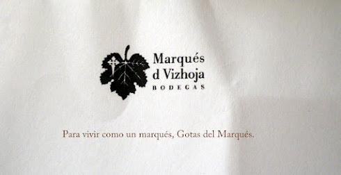 OBSEQUIO DE BODEGAS DE VIZHOJA. GOTAS DEL MARQUÉS.