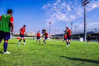 Treinamento Físico no Futebol para jogadores de 15 a 18 anos