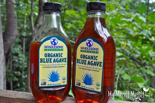how to make agave syrup