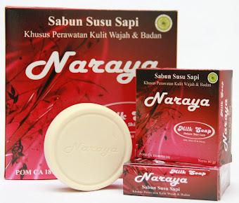 Naraya Milk Soap, Sabun Susu Sapi Murni